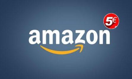 Amazon desconto 5€ 2021