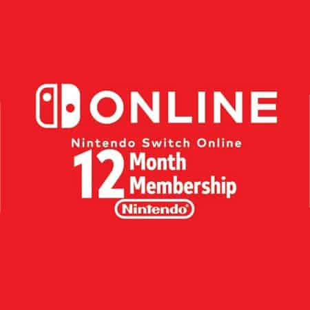 Nintendo Switch Online Membership 12 Meses (Licença EU) só 13,70€