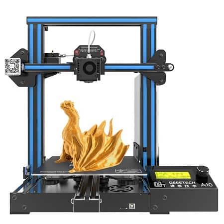 Ainda mais Barato! Impressora 3D Geeetech A10 I3 por 132,95€ desde Amazon