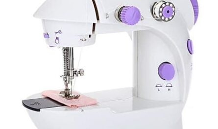 Preço mais baixo Mini Maquina de costura portátil