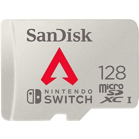 SanDisk 128GB Micro SDXC UHS-I U3 Nintendo Switch desde Espanha a 16,9€
