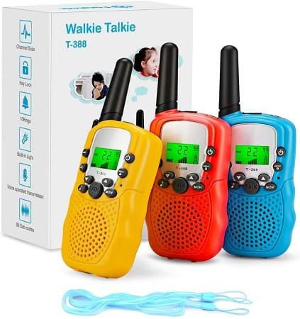 3 x Walkie Talkie desde Amazon Espanha apenas 7€uritos
