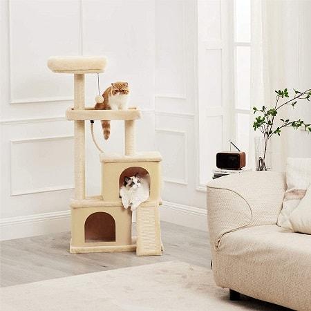 Árvore Arranhador para Gatos com 127 cm desde Espanha por 34,5€