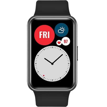 Oferta desde Espanha! Smartwatch HUAWEI Watch Fit com GPS por 68,4€