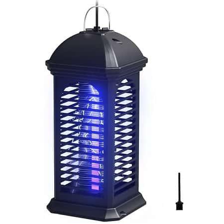Lâmpada anti-mosquito elétrica, Trap Light de Interior e Exterior desde a Amazon por 6,20€
