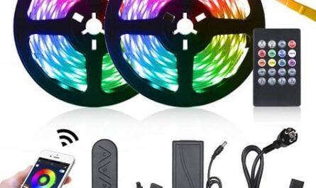 10 mt Fita LED RGB (300 LEDs) Controlo por APP + Comando