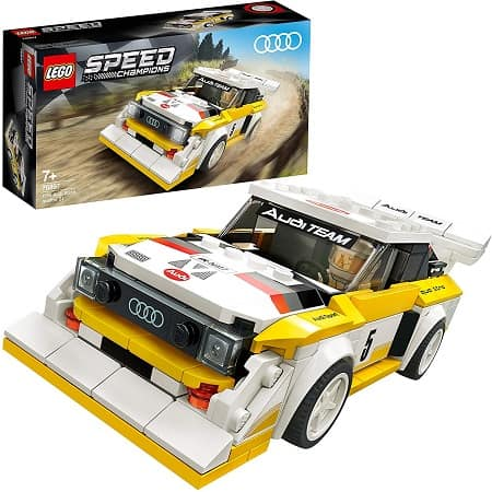 O icónico Audi Sport quattro S1 LEGO® a um preço imbatível de 14,99€ desde AMAZON