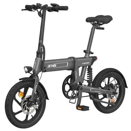 Bicicleta HIMO Z16 Autonomia de *80km vel 25km/h desde a EUROPA por 495,8€