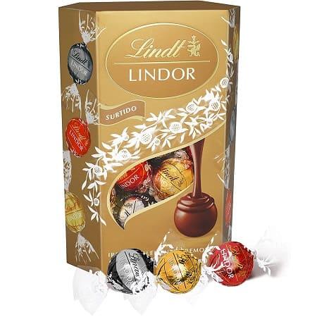 Lindt Lindor Sortido de Bombons de Chocolate 200g com Recheio Cremoso desde AMAZON por 4,99€