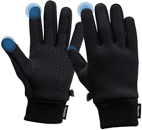 Luvas de Inverno sensível ao toque, antiderrapantes e à prova de vento desde Amazon por 7,9€