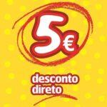 Descontão AMAZON! desconto directo de 5€ em compras iguais ou superiores a 10€